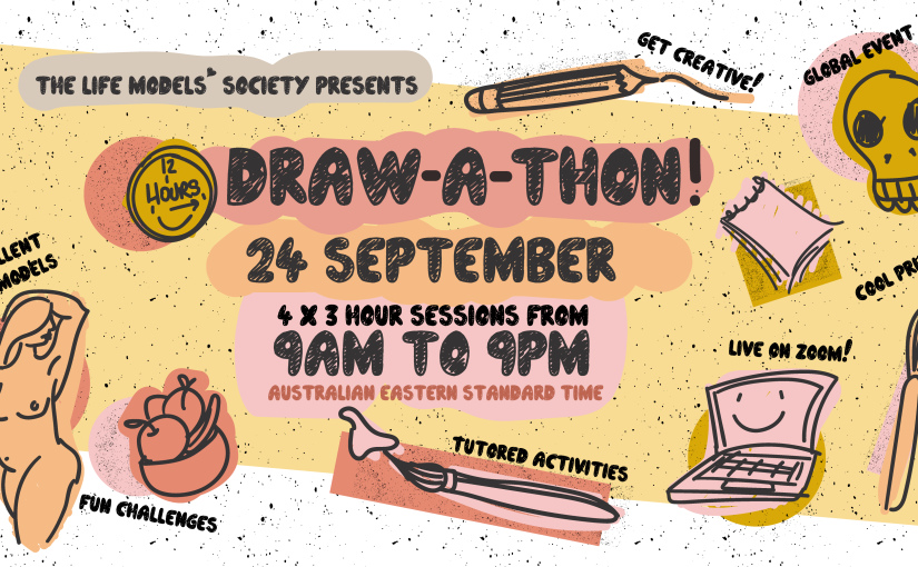 12-hour Draw-a-thon Online
